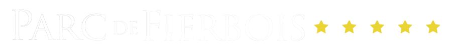 Parc De Fierbois : Parc De Fierbois Logo V2 Blanc