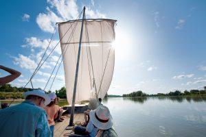 Parc de Fierbois: Navigation on the Loire