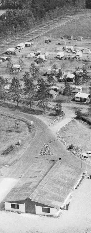 Parc de Fierbois: History of the Fierbois Campsite