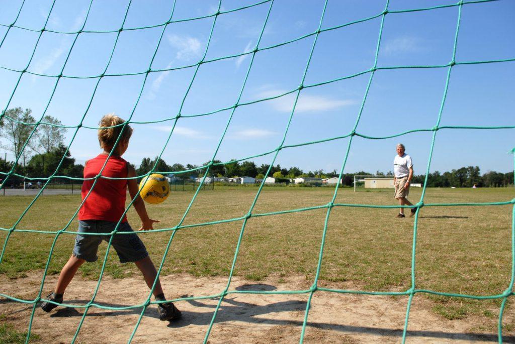 Parc De Fierbois : Football