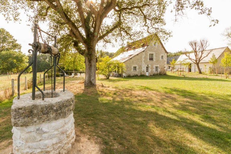 Parc De Fierbois : Gîte La Grande Maison , location grand gite indre et loire