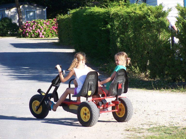 Parc De Fierbois : Kart A Pedales 4
