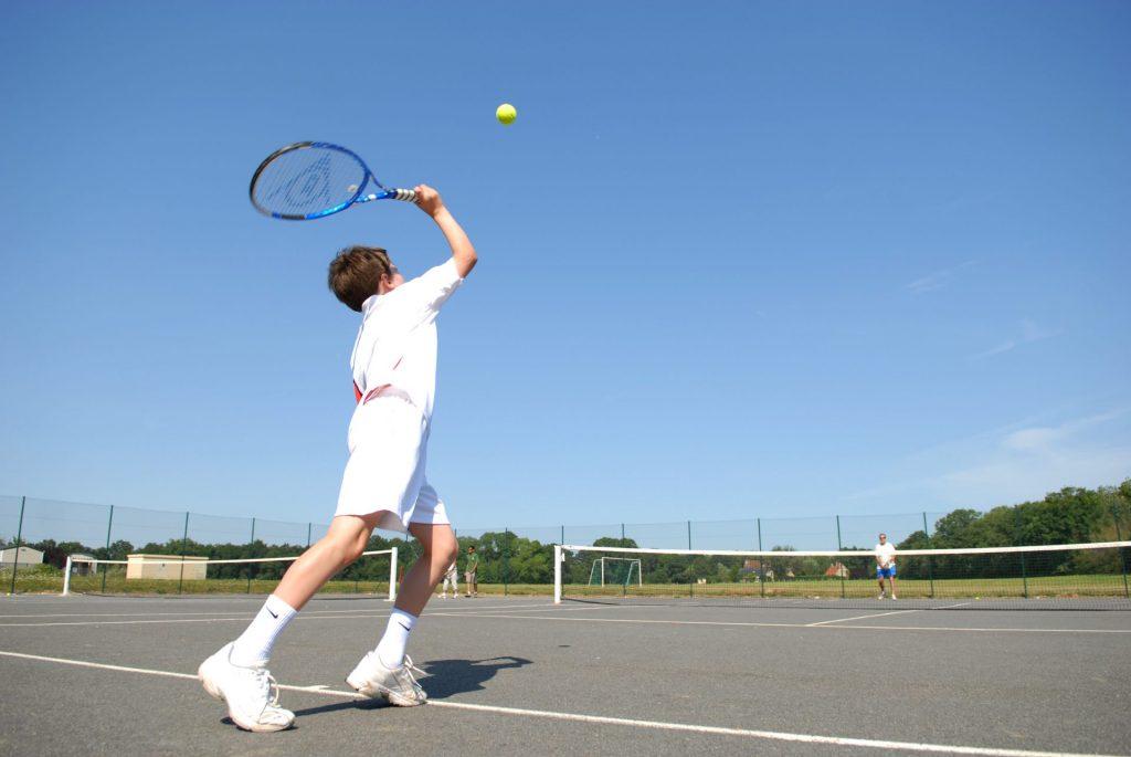 Parc de Fierbois: Tennis and Skate Park (3)