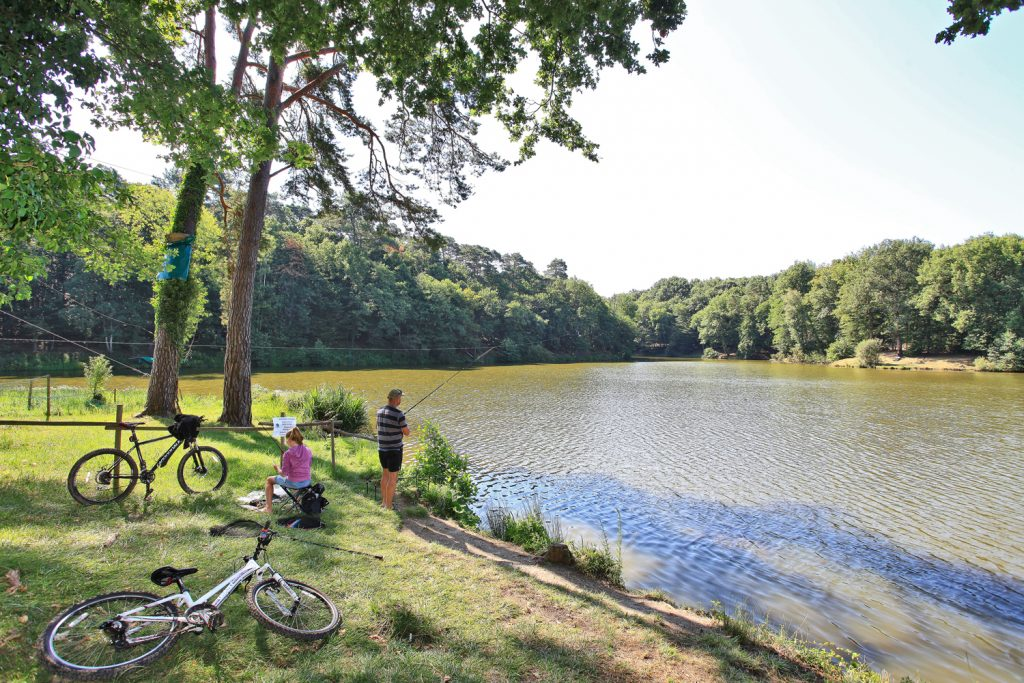 Parc de Fierbois: 7 Fierbois Lake and Fishing 1