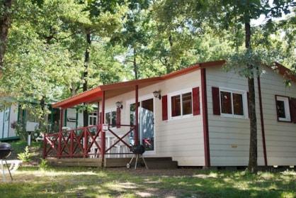Chalet près de Tours au Parc de Fierbois Camping Castel 5*