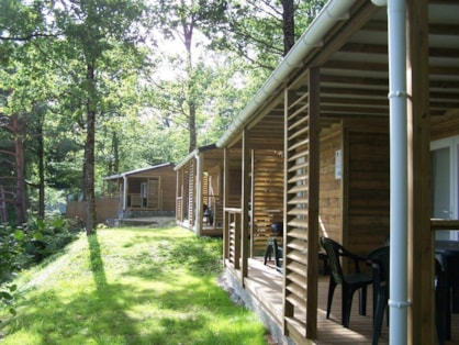 Location de chalets à Tours : Parc de Fierbois un camping Castel