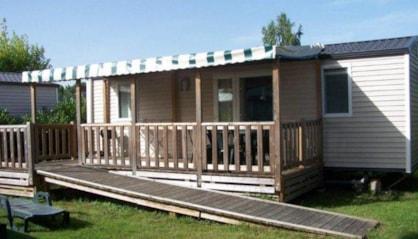 Mobil home accessible PMR en camping en indre et loire au parc de fierbois