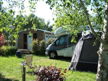 Emplacement de camping près de Tours